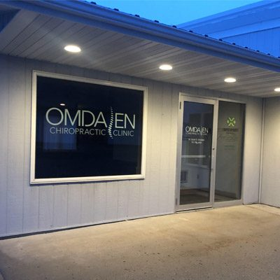 Chiropractic Mayville ND Office Building of Omdalen Chiropractic Clinic PC